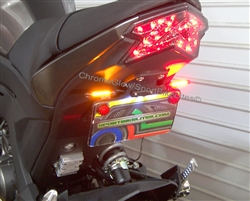 SPORTBIKE LITES Kawasaki Z125 LED Taillight Fender Eliminator Kit