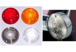 Replacement Harley Davidson Flat Turn Signal Lenses