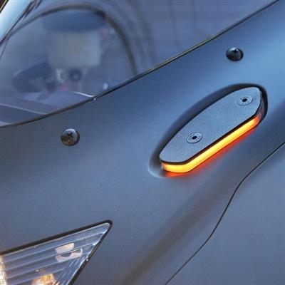 2005-2016 Black Mirrors w// Smoke Turn Signals For Suzuki GSXR 600 750 1000