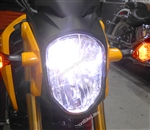 Honda Grom MSX125 LED Headlight Bulb Conversion Kit with Grom wiring harness