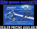 Motorcycle and Automotive HID Headlight Bulb Kit