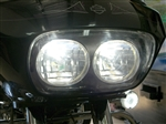 Harley Davidson Road Glide Motorcycle H4 HID Headlight Conversion Kit with mirco HID Ballast