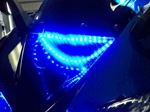 SPORTBIKE LITES KAWASAKI ZX14R HYPER LED AIR INTAKE DUCT HALO Kit