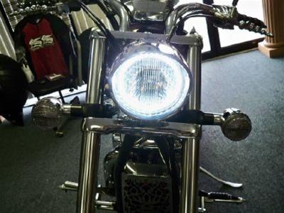 Image result for Honda Fury Sabre VTX1800 VTX1300 VT750 Color Changing Plasma LED Halo Ring Kit