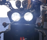 Triumph Rocket III LED Headlight bulb Upgrade Kit