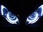 Motorcycle DRL Halos Eye Brow Strip Kit from SportBike Lites