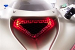 SPORTBIKE LITES KAWASAKI ZX6R LED Air INTAKE VENT HALO Kit