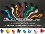 Adjustable Long & Short Clutch and Brake side Levers for Kawasaki Z125 Pro motorcycles