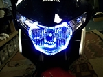 Perimeter LED Headlight Halo Kit for Honda CBR250R from SportBikeLites
