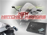 SportBike and Cruise Replacement Hatchet Tomahawk Mirrors