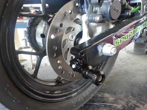 Swing Arm End Cap Spool Kit For Honda Grom Msx125 From