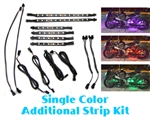 Xtreme-SBL Single Color Additional LED Strip Accent Kit