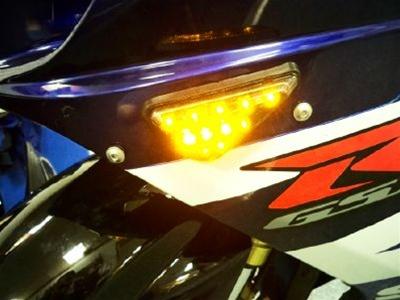 Universal Sport Bike Flush Mount LED Turn Signal Kit
