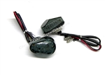 Large Motorcycle Flush Mount Front LED Turn Signals