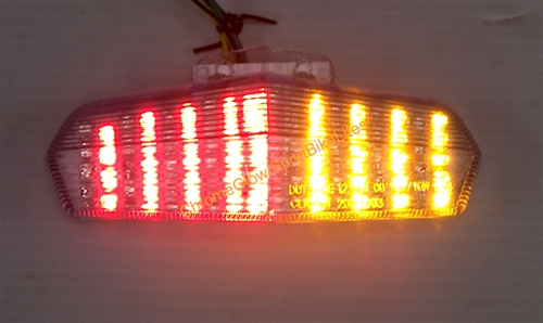 Replacement Integrated LED Taillight For Yamaha Ducati - Ducati 999 tail light wiring