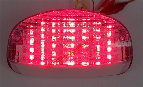 Brake Tail Light Lens for HONDA 1998-2003 Shadow ACE 750; 2004-2009 DELUXE 750 Smoke Motorcycle Taillights Lens