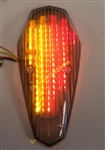 Replacement Integrated LED Taillight for Honda VT750 Shadow Aero, VT1300 Stateline