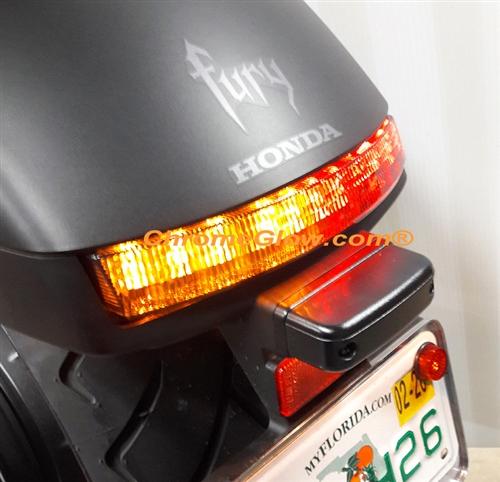 sportbike lites honda fury integrated led taillight