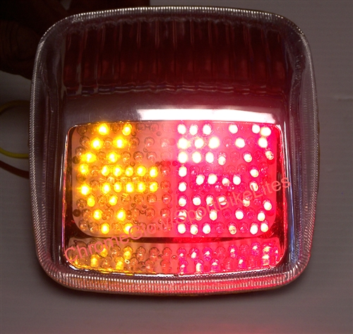 HD Softail Deuce Integrated LED Taillight from Clear Alternatives
