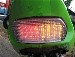 Kawasaki ZX7R, ZX7RR, or GPZ1100 Integrated LED Taillight