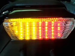 Kawasaki ZX10R Integrated or Sequential LED Taillight