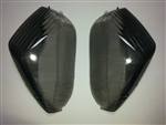 SPORTBIKE LITES ZX14, ZX10, CONCOURS CLEAR ALTERNATIVES REPLACEMENT REAR TURN SIGNAL LENSES IN SMOKED OR CLEAR
