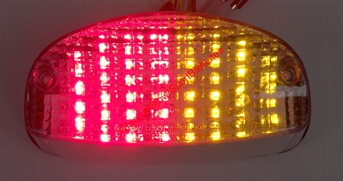 Integrated or Sequential LED Motorcycle Taillight for Suzuki GSX650F ...