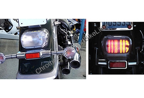 Led Tail Light Smoke Lens Int.Turn Signal Suzuki Intruder 800,LC1500 C90 C50