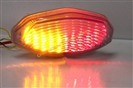07-08 GSXR 1000 & GSXS 750 Integrated or Sequential LED Replacement Taillight