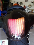 Integrated or Sequential LED taillight for Suzuki GSXR 1300 Hyabusa