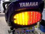 Top Zone Integrated LED Taillight for Yamaha 600R Sport Bike & V-Star 650 Cruiser