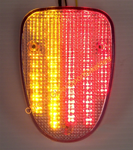Tail Turn Signals Integrated Light Smoke Fit YAMAHA VStar V-Star XVS650 XVS1100