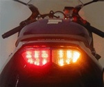 Yamaha R6, R6S Integrated or Sequential LED Taillight