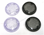 Yamaha Raider, Warrior, Stryker, Bolt Smoked & Clear Turn Signal Lenses