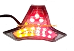 Kawasaki Z1000, ZX10R Integrated or Sequential LED Taillight