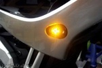 SportBike Lites Front LED Flush Mount Turn Signal Kit for Yamaha FZ6