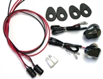 SPORTBIKE LITES FZ09 EURO FRONT TURN SIGNALS AND MARKER LIGHT KIT