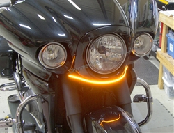SPORTBIKE LITES KAWASAKI VAQUERO 09-15 FRONT LED TURN SIGNAL Light BAR KIT