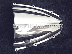 SPORTBIKE LITES Replacement Chrome Windscreen for '03-'04 Honda CBR 600RR