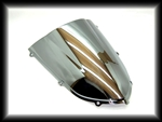 SPORTBIKE LITES Replacement Chrome Windscreen for '04-'05 Kawasaki ZX10R