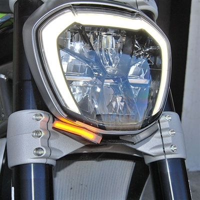 New Rage Cycles Ducati XDiavel Front Turn Signals