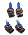 SPORTBIKE LITES KAWASAKI ZX14 03-09 HIGH AND LOW BEAM SUPER BLUE BULBS