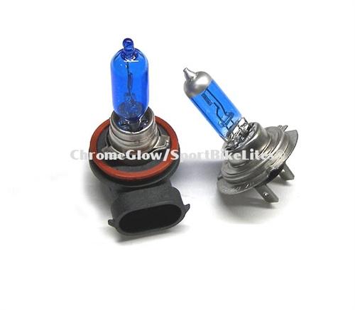 Sportbike Lites 07 08 Suzuki 1000 Super Blue Headlight Bulbs