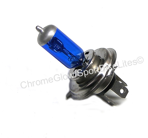 Sportbike Lites H4 Xenon Halogen Super Blue Headlight Bulb