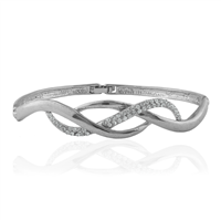 Diamond Wave Bangle