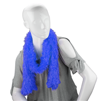 Unique Fashionable Lightweight Timeless Multi-Wear Solid Blue Magic Scarf