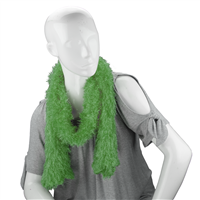 Unique Fashionable Lightweight Timeless Multi-Wear Solid Green Magic Scarf