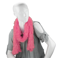 Unique Fashionable Lightweight Timeless Multi-Wear Solid Pink Magic Scarf