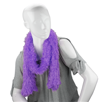 Unique Fashionable Lightweight Timeless Multi-Wear Solid Purple Magic Scarf
