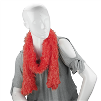 Unique Fashionable Lightweight Timeless Multi-Wear Solid Red Magic Scarf